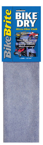 BIKE BRITE BIKE BRITE BIKE DRY MICRO FIBER CLOTH MC59000