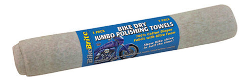 BIKE BRITE BIKE BRITE BIKE DRY JUMBO POLISHING TOWEL MC99000