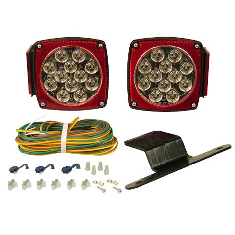 BLAZER LIGHTING LED CLEAR LENS SUBMERSIBLE TRAILER LIGHT KIT C5721