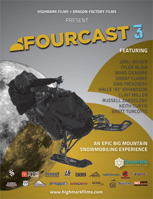 HIGHMARK FILMS DVD FOURCAST 3 4CAST3-DVD