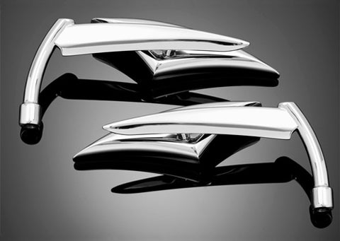HIGHWAY HAWK HH-91-885 MIRROR RAZORBLADE CHROME SET