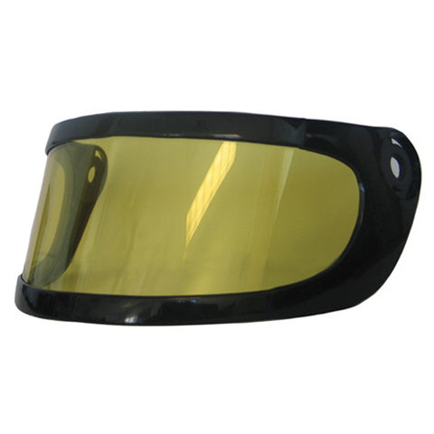 BELL HELMET REPLACEMENT SHIELD DUAL LENS - YELLOW BH02X