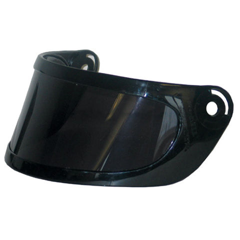 BELL HELMET REPLACEMENT SHIELD DUAL LENS - SMOKE BH02X