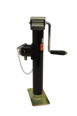 "BUYERS SIDE WIND SWIVEL JACK 2000# PIPE MOUNT 10"" TRAVEL 91220"