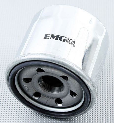 EMGO 2008-2009 Suzuki VZR1800N M109R2 Boulevard OIL FILTER CHROME 10-55670
