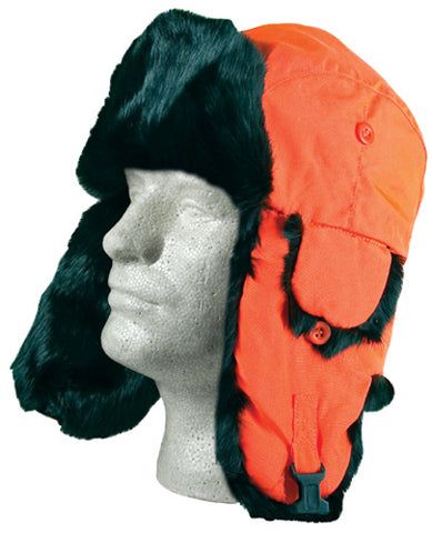YUKON HG651 ALASKAN HAT ORANGE MEDIUM