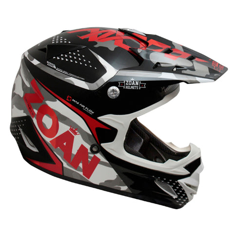 ZOAN 021-501 MX-2 YOUTH HELMET SNIPERRED M