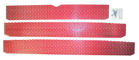 DUDECK P-2 CANDY RED SCREEN KIT