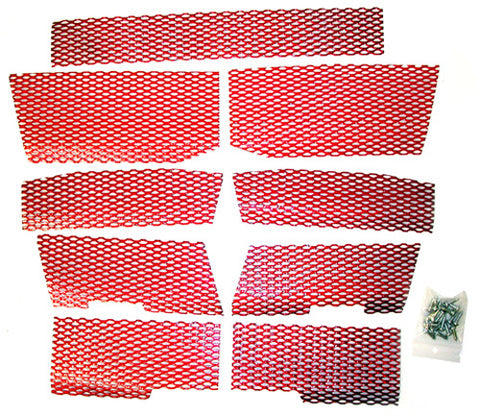 DUDECK P-3 CANDY RED SCREEN KIT
