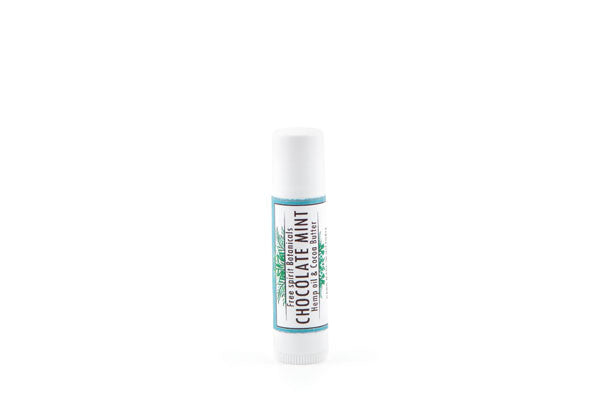 Chocolate Mint Hemp Oil Lip Balm