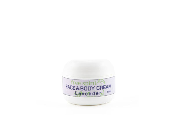 Lavender Face & Body Cream