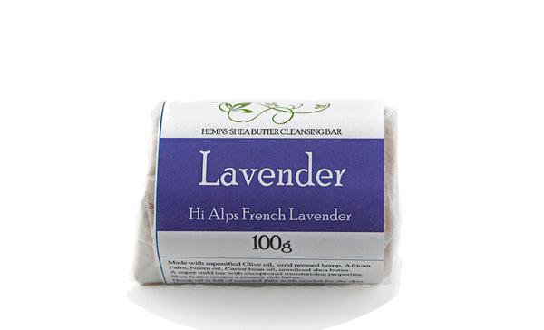 Lavender Fields Cleansing Bar