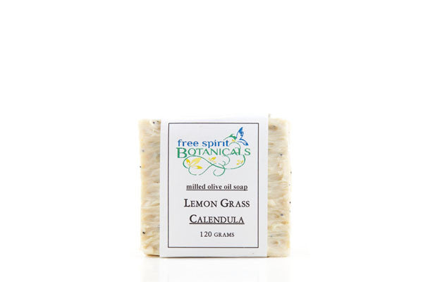 Lemongrass and Poppy Seed Herbal Bar