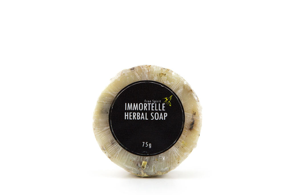 Immortelle Herbal Soap - From Soil to Skin