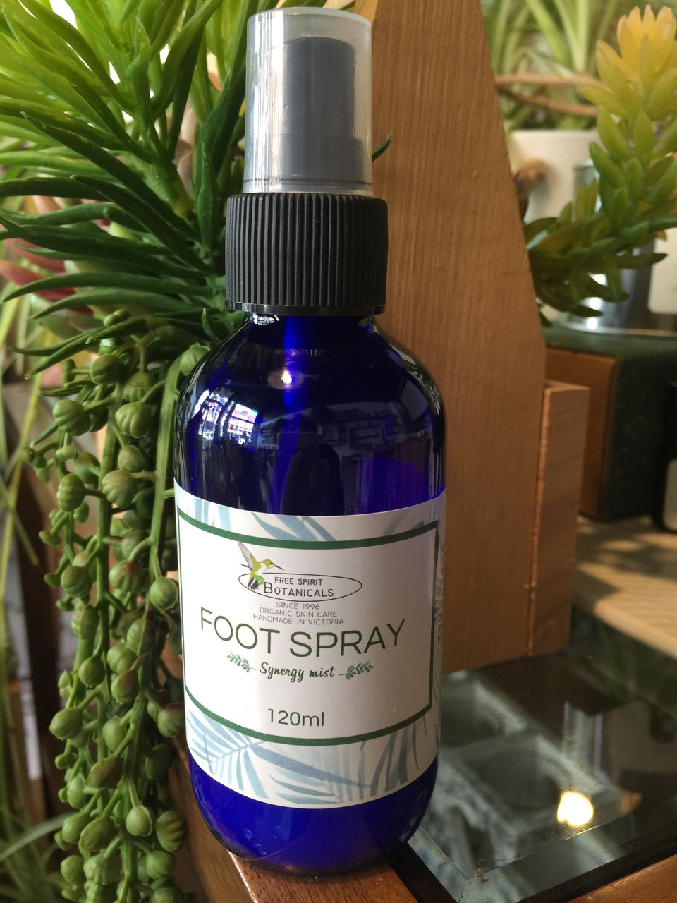 The Ultimate Foot Spray