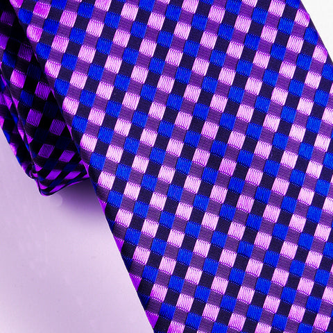 "B2B Shirts - Italian Style Basket Woven 3"" Necktie Business Elegance  For Formal Business Occasion - Business to Business"