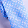 "B2B Shirts - Italian Style Light Blue Square Dot 3"" Necktie Business Elegance  For Formal Business Occasion - Business to Business"
