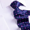"B2B Shirts - Italian Style Purple Pink Dot 3"" Necktie Business Elegance  For Formal Business Occasion - Business to Business"