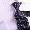 "B2B Shirts - UK Style Brown Dot 3"" Necktie Business Elegance  For Formal Business Occasion - Business to Business"