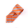 "B2B Shirts - Orange Stripe 3"" Necktie Business Elegance  For Professional Formal Ego - Business to Business"