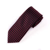 "B2B Shirts - Burgundy Basket Woven 3"" Necktie Business Elegance  For Professional Formal Ego - Business to Business"