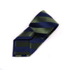 "B2B Shirts - Green & Blue Stripe Sexy 3"" Necktie Business Elegance Formal Business Occasion - Business to Business"