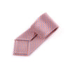 "B2B Shirts - Tangerine & Blue Basket Woven 3"" Necktie Business Elegance for Smart Men's Ego - Business to Business"