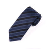 B2B Shirts - Black, Gary Italian Stripe Necktie Business Formal Elegance For Smart Men's Ego - Business to Business
