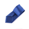 "B2B Shirts - Blue Herringbone Woven 3"" Necktie Business Formal Elegance For Smart Men's Ego - Business to Business"