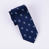 Special Lion Embroidery Designer Tie 8cm Necktie For Professional Accessory