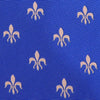B2B Shirts - Light Blue Italian Fleur-De-Lis Designer Tie 8cm Necktie Florentine Accessory - Business to Business