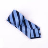 B2B Shirts - Wall Street Blue Striped Formal Business Dressy Fashion Standard 3 Inch Tie - Business to Business