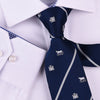 "B2B Shirts - Blue Castle & Horse 3"" Novelty Necktie Business Formal Elegance Smart Ego Man - Business to Business"
