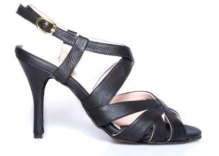 Size 5 - Miu in Black Leather - Souple