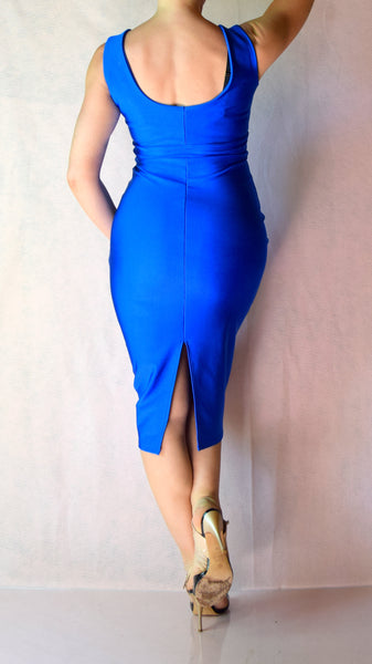 Wonder Woman High Neckline Wiggle Dress - Choose Your Size and Color