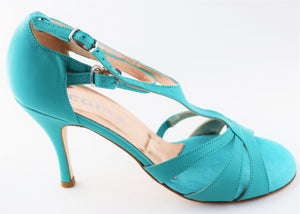 Size 7 - Recoleta in Teal Leather - Regina