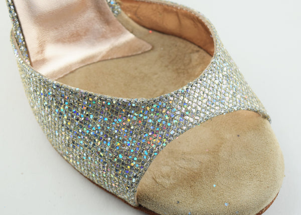 Size 6.5 - Nizza Slim in Disco Ball - Regina