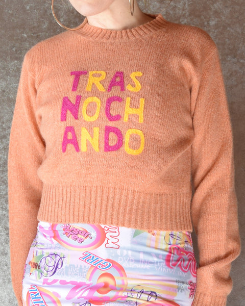 Trasnochando Upcycled Sweater - Size Small / Medium