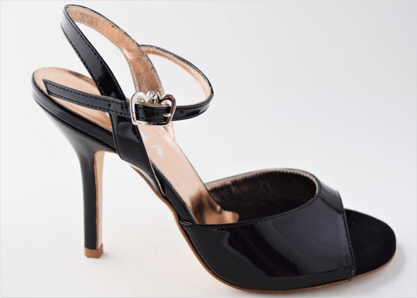 Size 6 - Nizza in Black Patent Leather - Regina