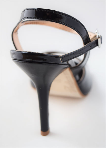 Size 4 - Nizza in Black Patent Leather - Regina