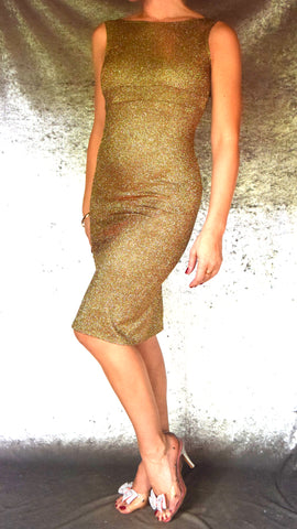 Glittery Iridescent Wiggle Dress - Choose Your Size and Color
