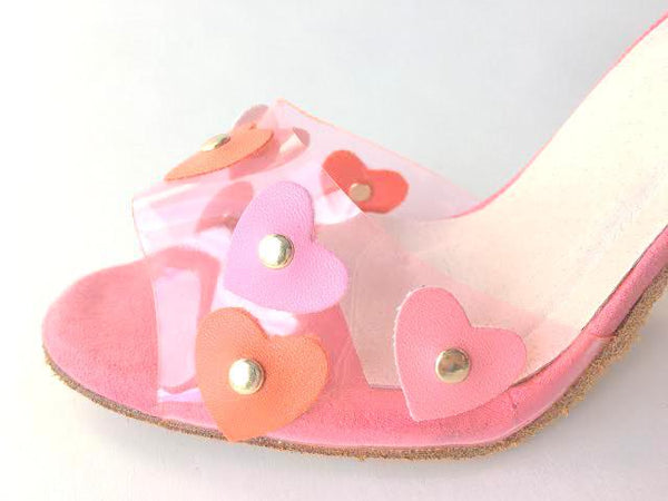 Size 5 Shoe Bundle - NATASHA / LAYLA IN SCARLET / LOLITA WITH HEARTS by Maleva Label