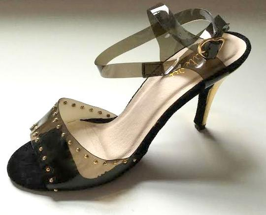 Size 7 Shoe Bundle - FARRAH / SPARKLE WITH SILVER STUDS / SILHOUETTE by Maleva Label