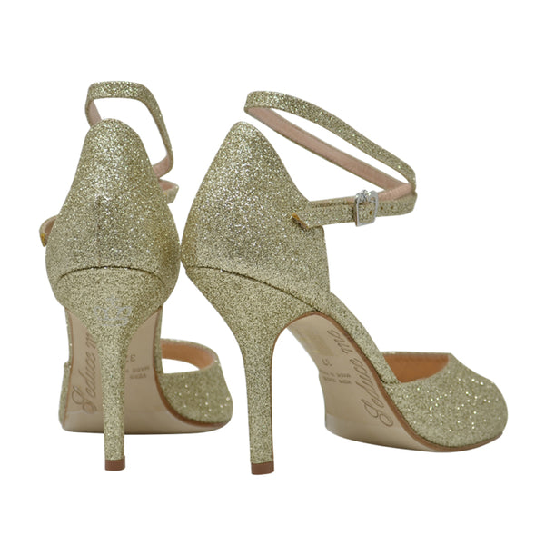 Size 7 - California in Gold Glitter - Regina