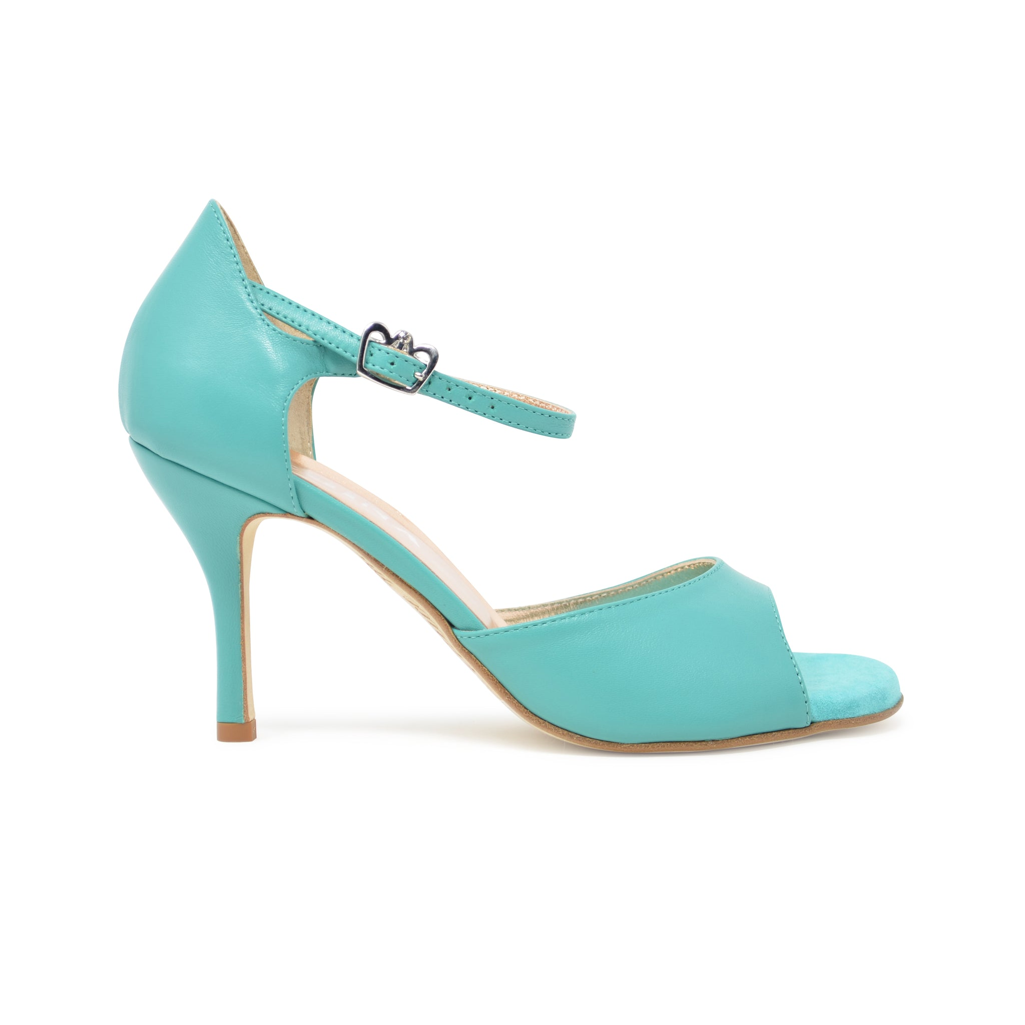 Size 8 - California in Turquoise Leather - Regina