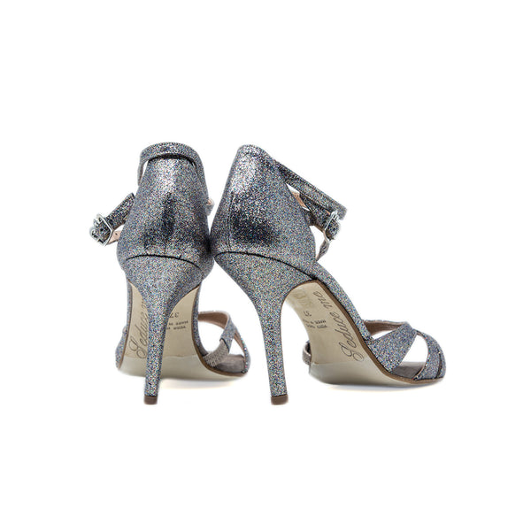 Size 9 - Eva3 Twins in Multicolor Silver Glitter - Regina