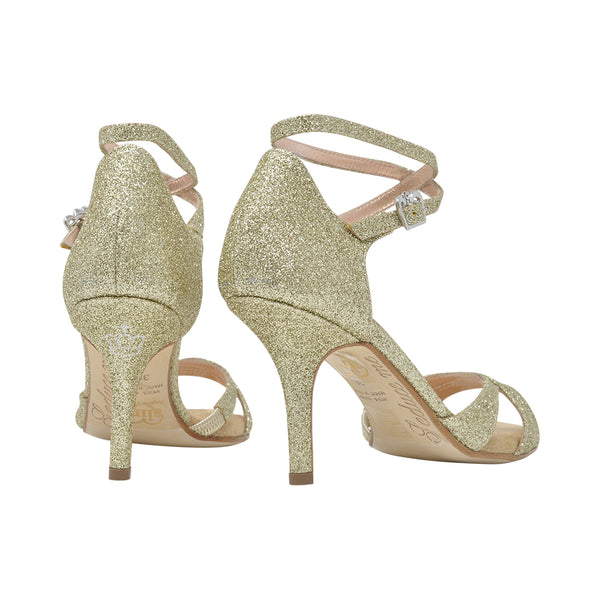 Size 6 - Eva3 Twins Star in Gold Glitter - Regina