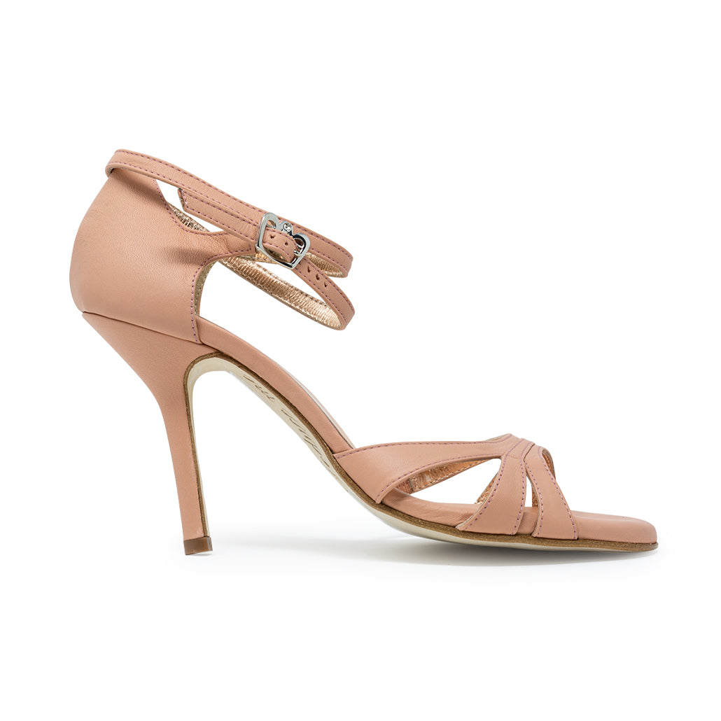 Size 6 - Eva3 Twins in Dusty Rose Leather - Regina