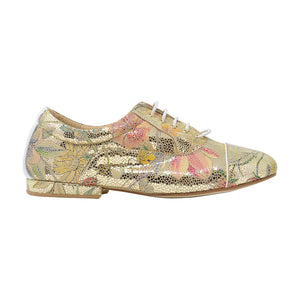 Size 6 - Katy in Metallic Gold Floral - Regina