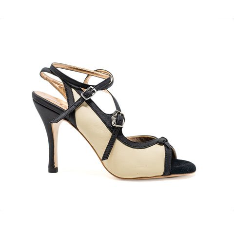 Size 5 - Pigalle in Black and Transparent - Regina